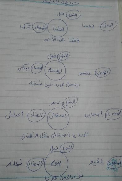 تلخيص رائع جدا للمراجعة على اللغة العربية للصف الثاني الابتدائي ترم اول 2019